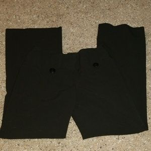 IZ Byer black dress pants slacks
